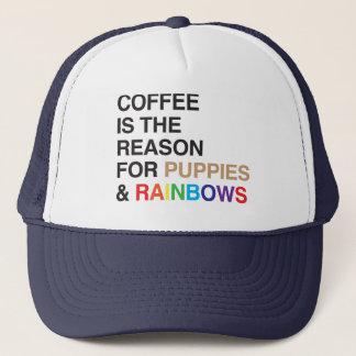 Koffie Op smaak gebrachte Regenboog Trucker Pet