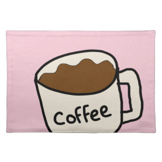 koffie placemat