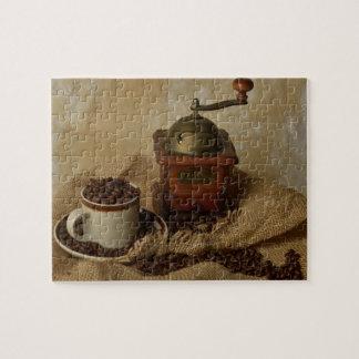Koffiemolen en Kop Puzzel