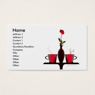 Koffietafel - BedrijfsGrootte Visitekaartjes
