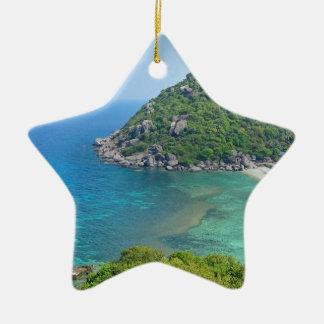 Koh Tao Thailand Keramisch Ster Ornament