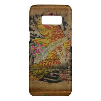 koivissen van het de rustieke toren Japanse tattoo Case-Mate Samsung Galaxy S8 Hoesje