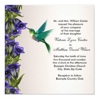 Kolibrie en de Paarse Uitnodigingen van het
