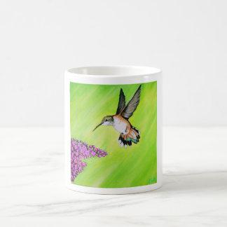 Kolibrie en Sering Koffiemok