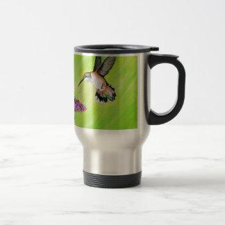 Kolibrie en Sering Reisbeker