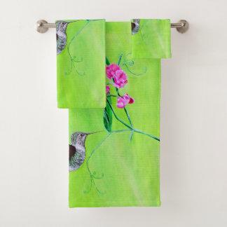 Kolibrie & Schatten Bad Handdoek