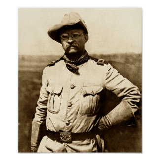 Kolonel Theodore Roosevelt Poster