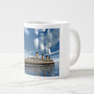 Kolossaal 3D schip - geef terug Grote Koffiekop