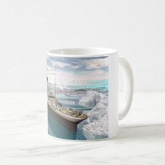 Kolossaal 3D schip - geef terug Koffiemok