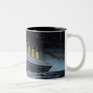 Kolossaal RMS Tweekleurige Koffiemok
