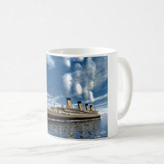Kolossaal schip - 3D render.j Koffiemok