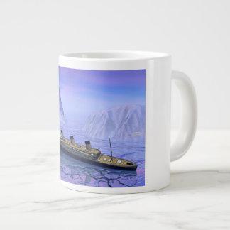 Kolossale boot die 3D dalen - geef terug Grote Koffiekop