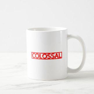 Kolossale Zegel Koffiemok