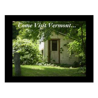 Kom Bezoek Vermont… Briefkaart