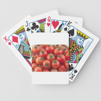 Kom van de Tomaten van de Kers Bicycle Speelkaarten