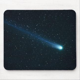 Komeet in de Hemel van de Nacht Muismat