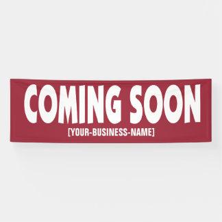 Komst spoedig de Banner van het Bedrijfs het
