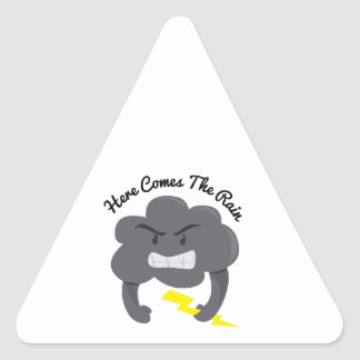 Komt hier Regen Stickers