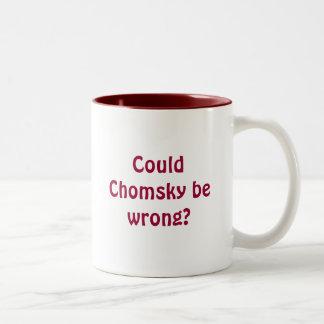 Kon verkeerd Chomsky zijn? Tweekleurige Koffiemok
