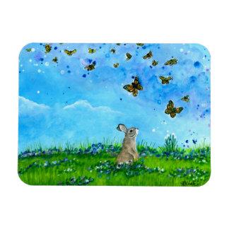 Konijntje & de Magneet van Vlinders door Bihrle