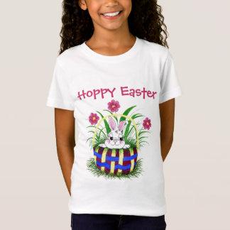 Konijntje - het T-shirt van de Mand van Pasen