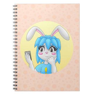 konijntjes notitieboekje notitieboek