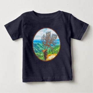 Koning Cervus Baby T Shirts