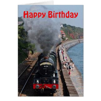 Koning Edward 1 Gelukkige Verjaardag van de Motor Briefkaarten 0