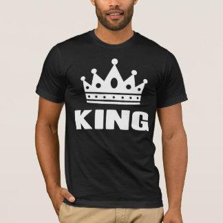 Koning Één de Kroon van de Kleur T Shirt