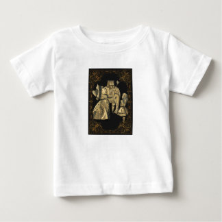 Koning en Koningin van Harten Alice Wonderland Baby T Shirts