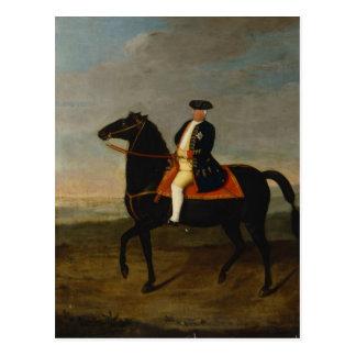 Koning Frederick William I op Horseback Briefkaart