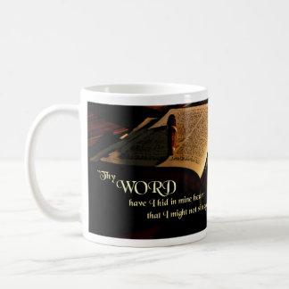 Koning James Bible Mug - het 119:11 van de Psalm Koffiemok