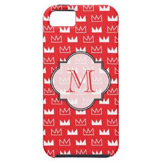Koning Koningin Diva Red Crown Tough iPhone 5 Hoesje