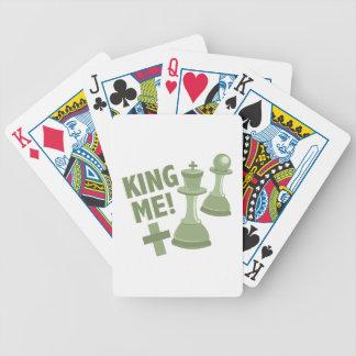Koning me pak kaarten