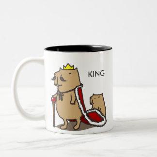 Koning van capybara. Mok