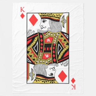 Koning van Diamanten Fleece Deken