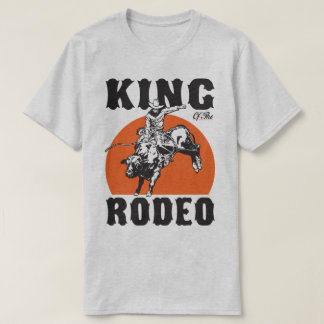 Koning van het Humeur van het Land van de Cowboy T Shirt