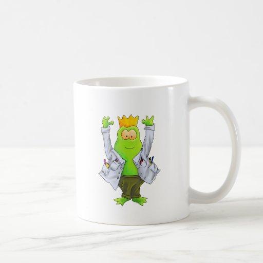 Koning van het Laboratorium Koffie Beker