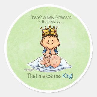 Koning van Prinses - de stickers van de Grote Broe