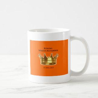 Koning Willem-Alexander Basic Witte Mok