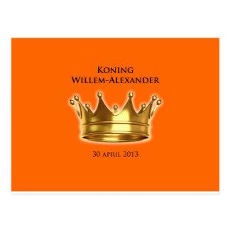 Koning Willem-Alexander Briefkaart