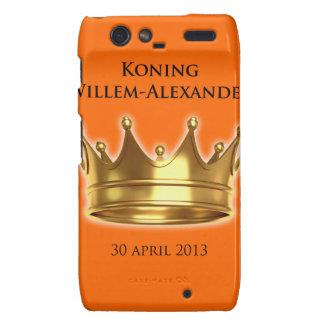 Koning Willem-Alexander Motorola Droid RAZR Cover