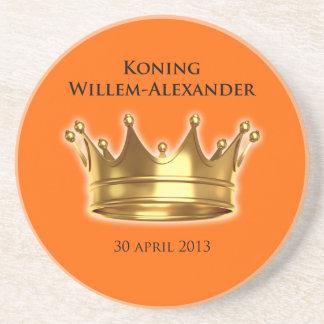 Koning Willem-Alexander Onderzetter Voor Drankjes