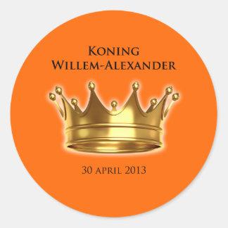 Koning Willem-Alexander Sticker