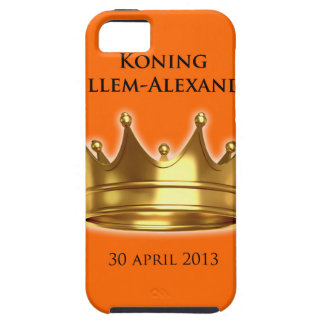 Koning Willem-Alexander Tough iPhone 5 Hoesje