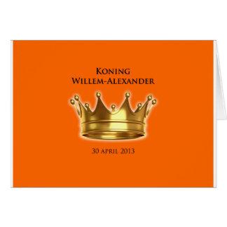 Koning Willem-Alexander Wenskaart