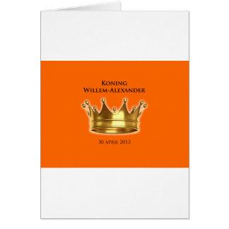 Koning Willem-Alexander Wenskaarten