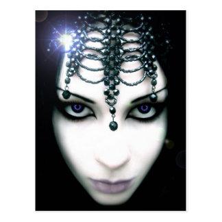 """Koningin"""" Briefkaart de """"van de nacht"""