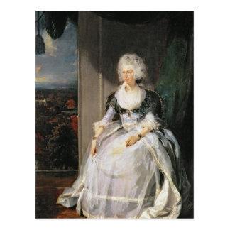 Koningin Charlotte, 1789-90, vrouw van George III Briefkaart