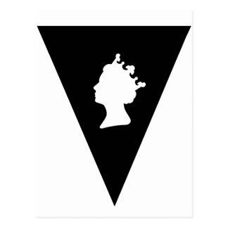 koningin elizabeth diamanten jubileum briefkaart